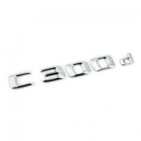 Emblema C 300d pentru spate portbagaj Mercedes