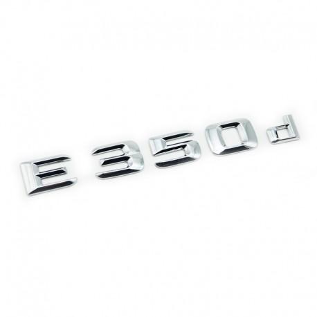 Emblema E 350d pentru spate portbagaj Mercedes
