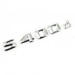 Emblema S 400d pentru spate portbagaj Mercedes