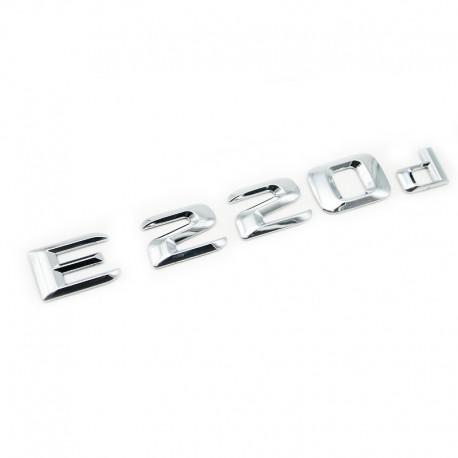 Emblema E 220d pentru spate portbagaj Mercedes