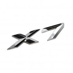Emblema X7 spate portbagaj BMW