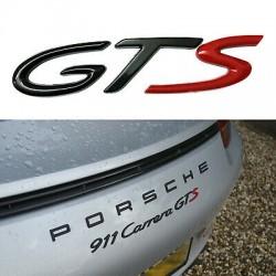 Emblema GTS spate portbagaj Porsche
