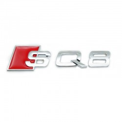 Emblema Audi SQ8 spate portbagaj