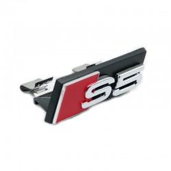 Emblema S5 grila fata Audi, prindere cu cleme