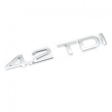 Emblema 4.2 TDI spate portbagaj Audi