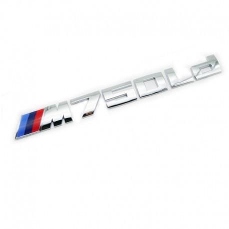Emblema M750Ld spate portbagaj BMW