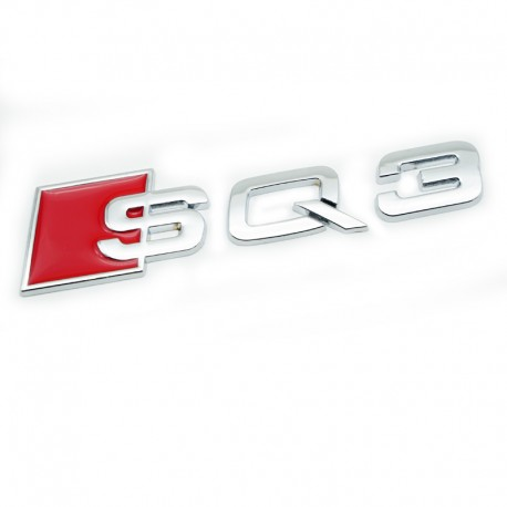 Emblema Audi SQ3 spate portbagaj