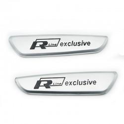 Set embleme R line Exclusive pentru interior Volkswagen