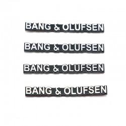 Set 4 Embleme Bang Olufsen pentru boxe