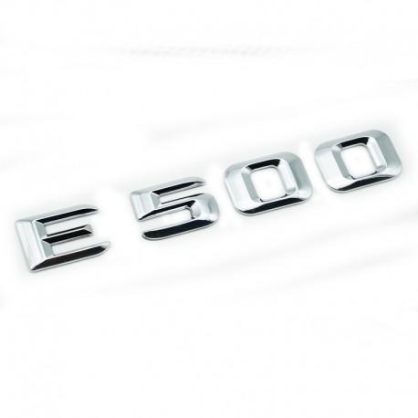 Emblema E 500 pentru spate portbagaj Mercedes
