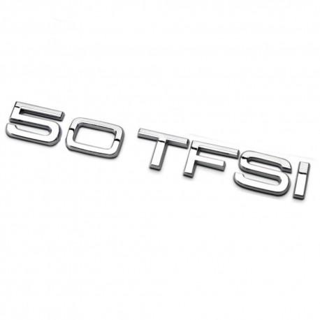 Emblema 5.0 TFSI spate portbagaj Audi