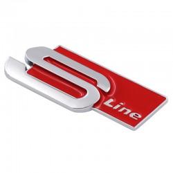 Emblema Audi Sline spate metal