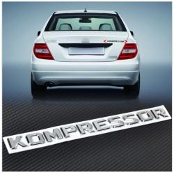 Emblema Mercedes Kompressor spate