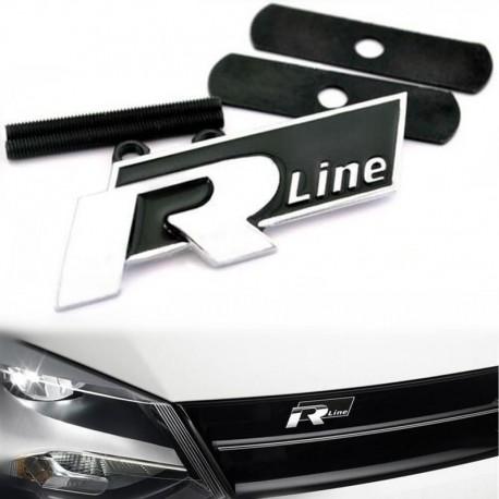 Emblema VolksWagen R Line grila