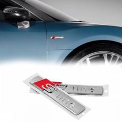 Emblema S-line pentru aripi - bandou usa Audi
