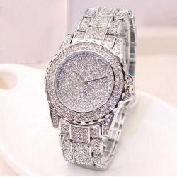 Ceas diamond crystal silver - femei