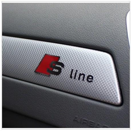 Emblema Audi S-line pentru bord