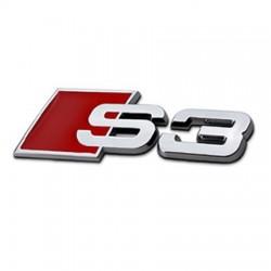 Emblema Audi Sline S3,S4,S5,S6,S8 (spate) metal
