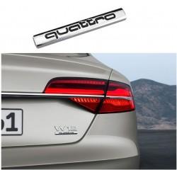 Emblema Audi Quattro spate portbagaj